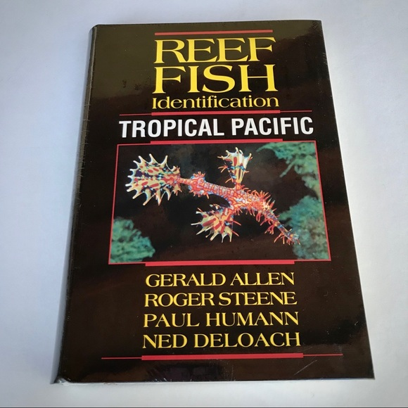Reef Fish Identification Tropical Pacific New